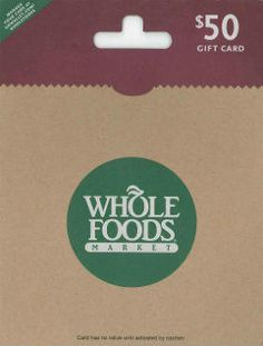 Enter to Win a $50 Whole Foods Gift Card #giveaway @MaxwellsAttic via: http://swee.ps/jrLEnWyb