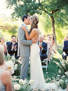 Elegant Ojai Resort Wedding | Rustic Outdoor Wedding Ideas | Erich Mcvey