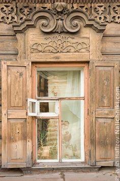 Деревянный наличник Иркутска №15