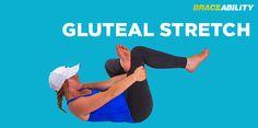 Gluteal Stretch for Sciatia Nerve Pain