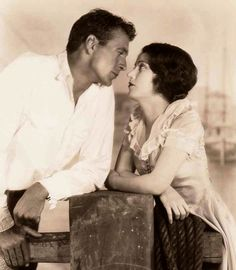 Gary Cooper  Fay Wray in The First Kiss c.1928
