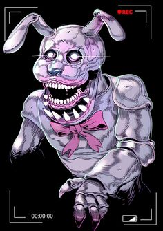 """witnesstheabsurd:  BONNIE - FIVE NIGHTS AT FREDDY'Sthe wind comes through the open window and i button my shirt and the rabbit's riding shotgun my teeth hurt you sent me a package marked """"live animals inside"""" and the sun's coming up quickly above the rising tide"""