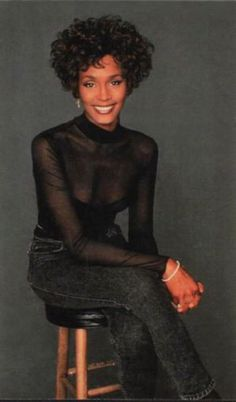 Photo of Whitney for fans of Whitney Houston.