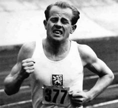 """To boast of a performance which I cannot beat is merely stupid vanity. And if I can beat """"it that means there is nothing special about it. What has passed is already finished with. What I find more interesting is what is still to come"""" -Emil Zatopek"""
