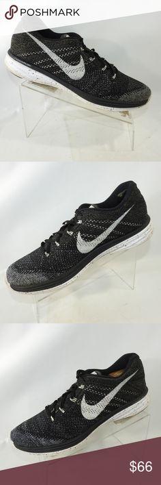official photos a2567 e23b9 Nike Flyknit Lunar 3 Size 12.5 Running Mens Shoes Nike Flyknit Lunar 3  698181-010