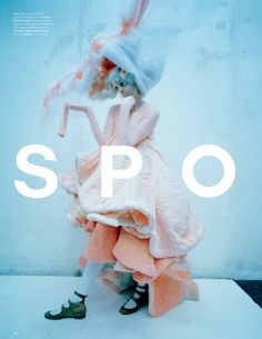 """Spooky"" | Model: Agyness Deyn, Photographer: Tim Walker, LOVE Magazine, Spring/Summer 2015"
