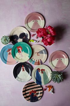 Gallus Dessert Plate - anthropologie.com