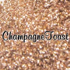 *Loose Cosmetic Glitter 'Champagne Toast'