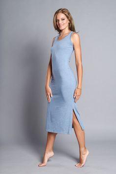 91eb007a802005 Athleisure Midi Straight Dress - Casual Cotton Dress - After Yoga Midi  Dress by AlinamalinaShop on