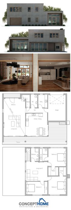 Modular Home Plan, Shipping container house plan, prefab house design, interior deco