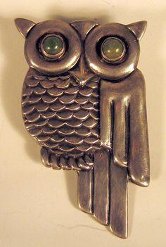 TAXCO art deco owl