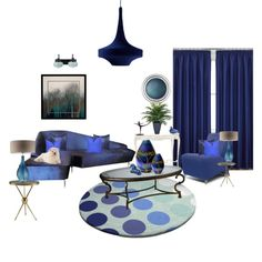 """""""Blue Royale"""" by dwnmrcll on Polyvore"""