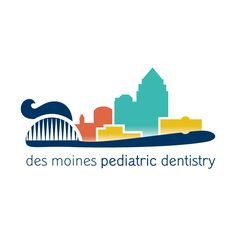 Des Moines Pediatric Dentistry : logo design by Imaginary Jane