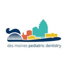 Des Moines Pediatric Dentistry : logo design by Imaginary Jane
