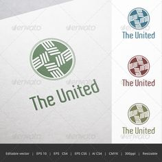 The United Crest Logo — Vector EPS #corporation #strong • Available here → https://graphicriver.net/item/the-united-crest-logo/5673317?ref=pxcr
