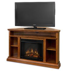 """Churchill 51"""" TV Stand with Electric Fireplace"""