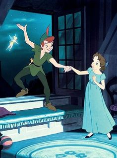 """Think of the happiest things. It's the same as having wings!"" ~ Disney's 'Peter Pan'"