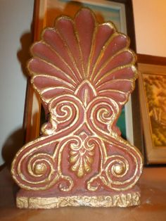 Rare Antique Antefix in perfect contition by StrangeAttachments on Etsy Rare Antique, Antiques, Trending Outfits, Unique Jewelry, Handmade Gifts, Etsy, Vintage, Home Decor, Antiquities