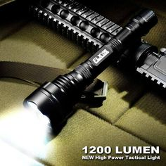 Barska 1200 Lumen High-power Tactical Flashlight http://www.overstock.com/6385137/product.html?CID=245307
