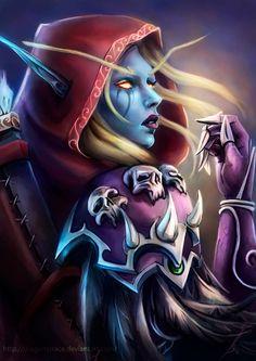 I'm drawing a series of World of Warcraft characters Alextrasza Jaina Tyrande Valeera Follow me on: FACEBOOK YOUTUBE