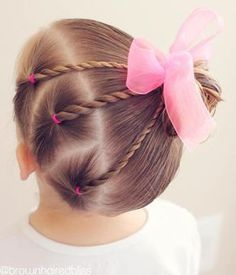 Easy Toddlers Hairstyle Kinderfrisuren 40 Cool Hairstyles for Little Girls on Any Occasion Easy Todd Easy Toddler Hairstyles, Baby Girl Hairstyles, Hairstyles For School, Trendy Hairstyles, Short Haircuts, Teenage Hairstyles, Girl Haircuts, Wedding Hairstyles, Hairstyles Haircuts