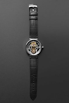 ae275a625049 The Spectacular New Louis Vuitton Tambour Moon Flying Tourbillon  Poinçon  De Genève  in Platinum