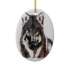 wolf Painting.png Ornaments  £11.05 THESE DESIGNS COME IN MANY DIFFERENT STYLES PRODUCTS & COLORS OF APPAREL ALSO