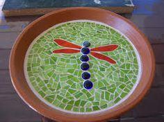 mosaic bird baths patterns - Google Search