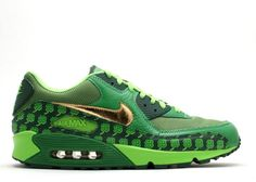 Cheap Air Max 90 Green Sneakers Classic Pattys ST Qk Shoes