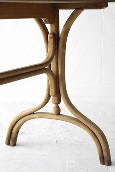 Thonet Oak Bistro Table