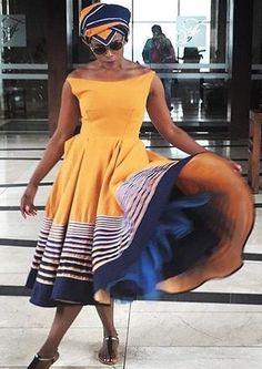 Xhosa Dress