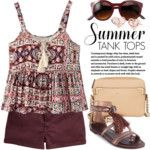 How to wear tank tops