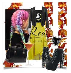 """""""real or not?"""" by annalisa-s on Polyvore featuring Pinko"""