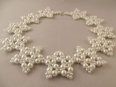 "Collar ""White Stars"""