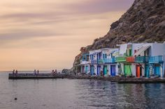 Klima, Milos: A Guide to the Most Colorful Fishing Village in Greece Europe Travel Tips, Travel Guides, Most Beautiful Greek Island, Best Greek Islands, Fishing Villages, Greece Travel, Day Trips, Playground, Places To See