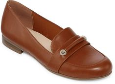 Liz Claiborne Trish Womens Loafers Slip-on Round Toe Loafer Shoes, Women's Loafers, Shoes Heels, Plastic Shoes, Loafers For Women, Luxury Shoes, Liz Claiborne, Casual Shoes, Slip On