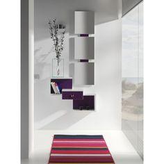 Mueble de entrada con espejo. Varios colores.