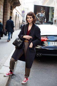 The Sartorialist / On the Street…Via Montenapoleone, Milan // #Fashion, #FashionBlog, #FashionBlogger, #Ootd, #OutfitOfTheDay, #StreetStyle, #Style