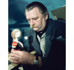 Jiří Trnka - remarkable Czech illustrator and creator of animated film, honored home and abroad.