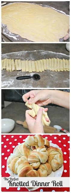 The Perfect Knotted Dinner Roll- These are so Good! |www.classyclutter.net|