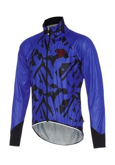 Core Brush Jacket Dazzling Blue Cycling Jacket Attaquer - 1