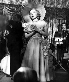 Christian Dior was the exclusive designer of Marlene Dietrich's dresses in the Alfred Hitchcock film Stage Fright