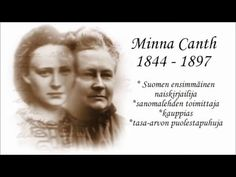 Minna Canth - YouTube History Of Finland, Literacy, Literature, Fiction, Language, Classroom, School, Youtube, Books