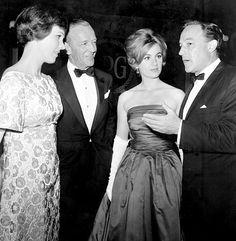 Julie Andrews (1935- ), Fred Astaire (1899-1987), Shirley Jones (1934- ) & Gene Kelly (1912-1996)  (1964)