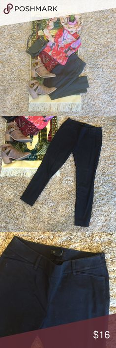 • White House | Black Market • Career Trousers • Slim leg trousers from White House | Black Market. Size 2R. These cute pants were thrifted and never personally worn. A lil' dusty, but we can wash them before sending. ☺️ These pants are so cute, but just a bit too big, which is why we are selling.  Perfect for work and suuuu comfortable. :) White House Black Market Pants