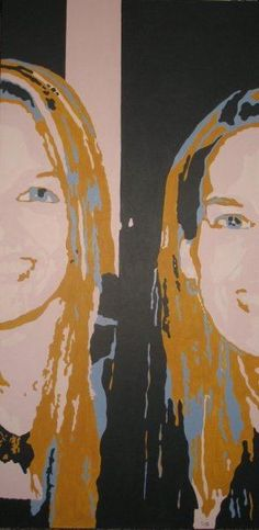 Título: Autoretrato Autor: Ximena Girado Técnica: Acrílico sobre lienzo Medidas: 120 x 60 cms Año: 2008
