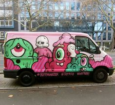 #Graffiti #buffmonster #art #bombing