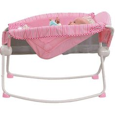 Fisher-Price - Newborn Rock N' Play Sleeper, Pink - I heard this was essential. Maybe will pick one up?