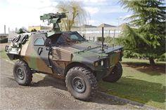 VBL Mk2 Combat All-terrain Reconnaissance Armored Vehicle