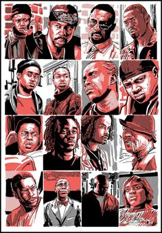 The Wire. So many interesting characters to choose from... A magnificent series